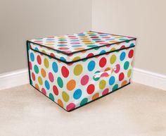 Jumbo Storage Box Room Toy Tidy With Lid Rectangular Boys Girls - 50 x 30 x 40cm | eBay