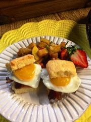 Perfect for Mom! Shortcake Breakfast Biscuits