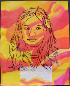 Field Elementary Art Blog!: 2nd Grade Fool-Proof Portraits!