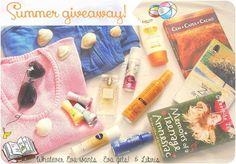 Summer Giveaway cu Whatever Eva wants si Libris | Eva Luna
