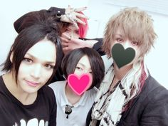Luz-kun with Band members ~<3