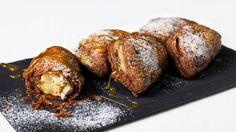 Chaussons poire et chocolat   Zeste #dejeuner #brunch #breakfast