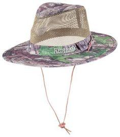 RedHead Mesh Outback Hat for Men - TrueTimber HTC Green - M