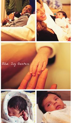 Blue Ivy Carter. <3 so cute!!!