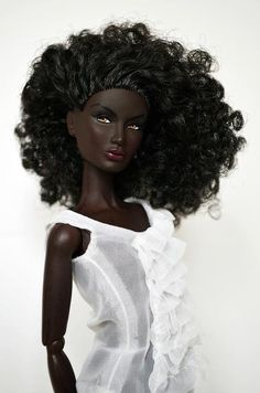 Black Dolls | dolls #art #black barbie #barbie dolls