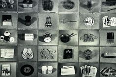 Closing this Sunday - don't miss out! Christian Boltanski: Inventory of Objects Belonging to a Young Man of Oxford
