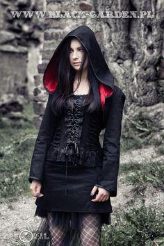 black garden # black-garden.pl # model: silver wolfie# photographer: katarzyna jaworska# make up : Angelika Hrechorowicz # lady ardzesz # poland # goth # gothic # gothic shop # castle #