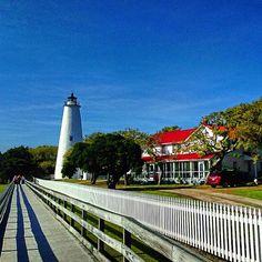 Ocracoke Lighthouse in Ocracoke, NC