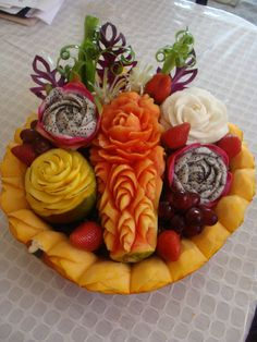 tropical fruits turkey fruit platter