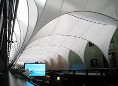 Convertible Membrane Roof, Metzgergasse, Buchs; Kugel Architects