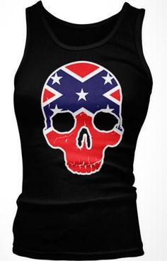 Rebel Confederate Flag Skull Ladies Junior Fit Tank Top (Black, X-Large) Emo,http://www.amazon.com/dp/B00ED2SVGG/ref=cm_sw_r_pi_dp_rBrhtb12H7QNAKBG
