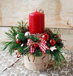 Купить Новогодняя композиция - новогодняя композиция, новый год 2016, новогодний сувенир, новогодний подарок