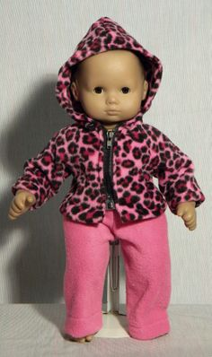 hooded jacket and pants for Bitty Baby doll