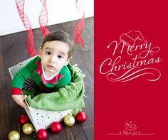 6 Month Old Christmas Session | Inspire Me Photography
