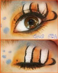 Finding Nemo makeup