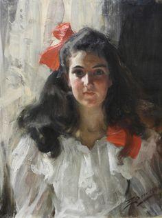 Anders Zorn (Swedish, 1860-1920) : Marie Cohen.