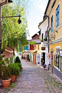 Szentendre, Hungary August 2016