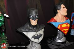Action Figure Insider Galleries: Batman and Superman busts