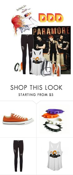 """""""""""So if you let me, I will catch fire to let your glory and mercy shine""""~Part II by Paramore~"""" by lesleyking143 ❤ liked on Polyvore featuring Converse and Andiamo"""