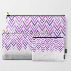 Purple Carry All Pouch - Make-up Bag-Original Art- Pouch- Toiletry Bag - Change Purse - Organizing Bag - Made to Order  MADE TO ORDER  DESCRIPTION: Organize your life with Carry-All Pouches. Available in three sizes with wrap-around artwork, these pouches are perfect for carrying toiletries, art supplies and makeup-or fit an iPad in the large one. Comes with the ever-awesome YKK zipper, a strong canvas-like exterior, a 50/50 poly-cotton black interior lining Many uses: 1. Make-up Bag 2. ...