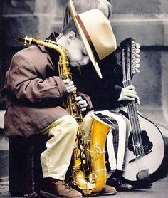 Little sax man #jazz #kid #music