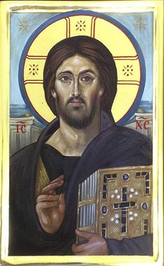 Christ — The Studio of John the Baptist Religious Icons, Religious Art, Christus Pantokrator, Images Of Christ, Jesus Face, Byzantine Icons, Jesus Pictures, John The Baptist, Orthodox Icons