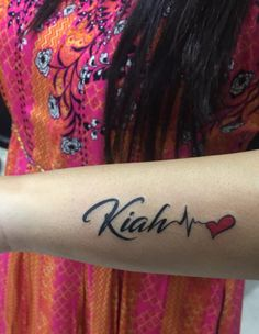 Gorgeous name tattoo with small heart done at our studio if u are looking for small tattoo with same designs u should go for this one . One of the Best TATTOO & PIERCING studio in Mumbai since . Old Tattoos, Small Tattoos, Girl Tattoos, Tattoos For Guys, Dot Work Mandala, Homemade Tattoos, Tattoo Maker, Piercing Studio, Detailed Tattoo