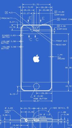 These iphone 5 blueprints show the remarkable precision with which iphone 5 wallpapers hd retina ready stunning wallpapers malvernweather Images