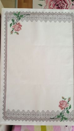 This Pin was discovered by rah Cross Stitch Borders, Cross Stitch Patterns, Beautiful Red Roses, Red Rose Flower, Bargello, Cross Stitch Embroidery, Needlepoint, Diy And Crafts, Needlework