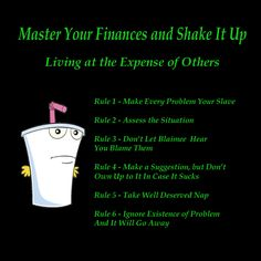 Secret to Success from Master Shake from Aqua Teen Hunger Force