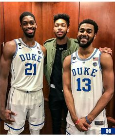 Amile Jefferson, Brandon Ingram and Matt Jones