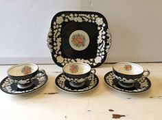 Beautiful George Jones & Sons china from the 1920's.