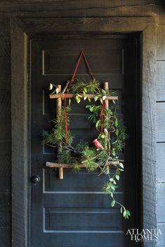 Unique Door Wreath