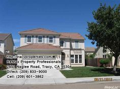Gorgeous 4 bedroom, 3 bath home with 2467 square feet of living space, open floor plan, lots of windows making it bright and airy. New interior paint throughout. Move in ready!  $356,500 http://tracyproperties.com/