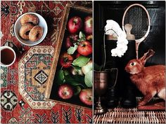 Moroccan Rugs, Super-Small Workspaces, and the Pleasures of Sweater Season