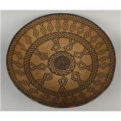 Yavapai/Apache Basket with Banded Design