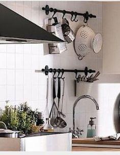 Superieur Ikea Fintorp Steel Condiment Kitchen Spice Holder Storage Organizer Cutlery  Caddy/Plant Pot Along With Kitchen Pot Rack Utensil Storage Organizer And 5  ...