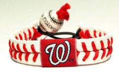 Gamewear Leather Wrist Band - Nationals Classic Band