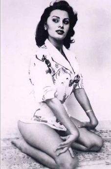 """Sophia Loren - You can sign up for a FREE download of """"Femme Fatale"""" from my new CD, Siren Song, at janseidesmusic.com! #Hollywood #femmes fatales #movie stars"""