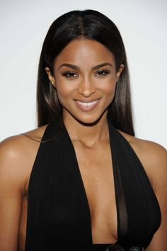 Ciara's Billboard Women in Music Luncheon Versus x Anthony Vaccarello Asymmetric Jersey and Leather Gown