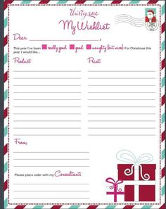 A Christmas Wish List (great for birthdays, graduation, etc. as well)    https://www.facebook.com/groups/192575464222798/