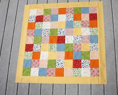 How to add a border to a quilt (my next step in my first quilting adventure)