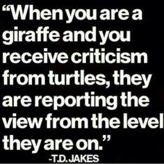 Be a giraffe