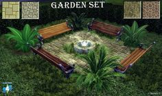 Garden Set at 27Sonia27 • Sims 4 Updates