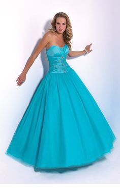 strapless ball gown beaded corset back yellow taffeta prom