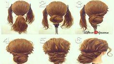 Penteado fácil e rápido em 5 minutos