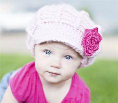 Mini Diva Hat in Pink