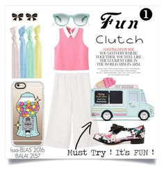 """""""Fun Clutch - Must Try! Catalogue #1"""" by issablas-maynila on Polyvore featuring MANGO, WithChic, Iron Fist, Kate Spade, J.Crew, Casetify and Ribband"""