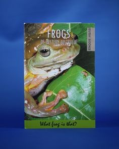Frogs of Western Australia. Lots of great information about Western Australia's frogs. Western Australia, Frogs, Westerns, Shop, Animals, Animais, Animales, Animaux, Animal