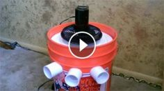 """Be Ready For Summer With Awesome DIY Air Conditioners. This Is Awesome. - How to make a non-compressor based """"5 gallon bucket"""" air conditioner. simple DIY. items needed: bucket, styrofoam liner, pvc pipe, small fan, and ice. (small solar panel is optional). One frozen gallon jug of water lasted 6 hours. Temperature in house was 84F. cooled air was in the mid. 40F range."""